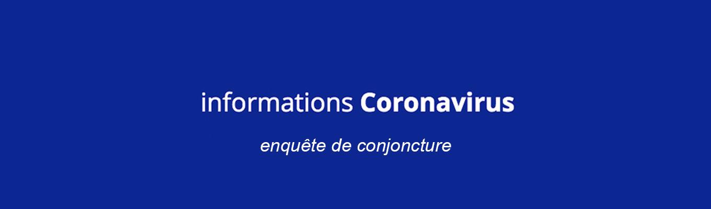 coronovirus enquete conjoncture