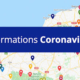 carte interactive Normandie Covid-19